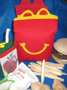 Felt Happy Meal